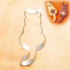 1 piece cookie biscuit cutter Mould shape. Cat Kitten Kitty. 8cm.