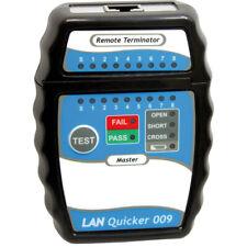 LAN Quicker Kabel Tester - Test von RJ45/UTP, RJ45/STP- Verkabelungen