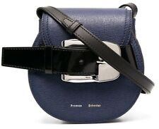 New Proenza Schouler Mini Buckle Crossbody Bag Blue $995