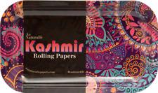 "Kashmir ""Mediuml"" NEW Style METAL Rolling Tray 11"" x7"" Limited edition 1"