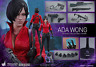 """RESIDENT EVIL 6 Ada Wong 1/6 Action Figure 12"""" Hot Toys Sideshow VGM21"""