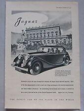 1947 Jaguar Original advert No.1