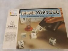 VINTAGE MB GAMES 1979 WORD YAHTZEE GAME COMPLETE - EXCELLENT CONDITION