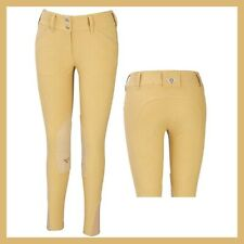 New With Tags TuffRider Women's Sierra Knee Patch Breech Light Tan size 32