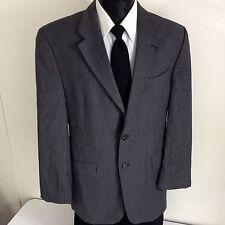 Chaps RALPH LAUREN Men GRAY Sport Coat SUIT Jacket Wool CASHMERE Blazer 39-40 R