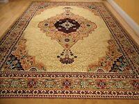 Beige Area Rugs 8x11 Persian Rugs 5x8 Carpet 8x11 Cream Traditional Rug 2x3 Mat