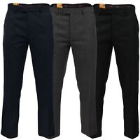 Mens Wool Twist Luxury Trouser by Farah Classic 'Dillon'