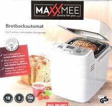 Brotbackautomat MAXXMEE Backautomat backformen 18 digitale Backprogramme NEU *