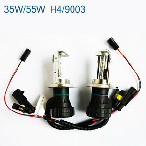 35W/55W HID  Bi-xenon Hi/Low Dual Beam Bulbs H4 H13 9003 9004 9007 9008 Harness