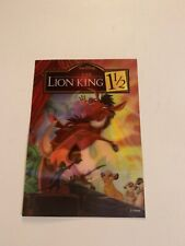 "7"" X 5"" Lenticular The Lion King 1 1/2 Walt Disney"