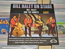 Bill Haley & The Comets - LP (VG+) Bill Haley On Stage / Hallmark England