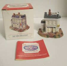 Liberty Falls Daily News Office & Plant Ah43 Americana collection 1993 Village