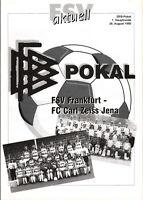 DFB-Pokal 95/96 FSV Frankfurt - FC Carl Zeiss Jena, 26.08.1995
