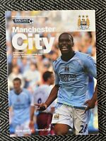 Manchester City v Liverpool 2008 Programme 5/10/08! FREE UK POSTAGE! LAST TWO!!!