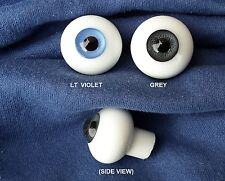 Doll Eyes - #EG Highest Quality Glass Eyes 30mm: CHOICE of color.