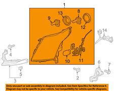 Cadillac GM OEM 10-13 SRX-Headlight Head Light Headlamp 22853872
