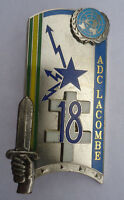 INSIGNE MILITAIRE ADC LACOMBE 162° PROMOTION ENSOA J. BALME