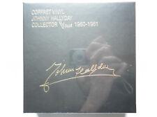 Johnny Hallyday coffret collector 12 vinyles Les Singles Vogue 1960-1961