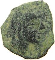 CELTIC ANCIENT AE HEAD / HORSE #t129 811