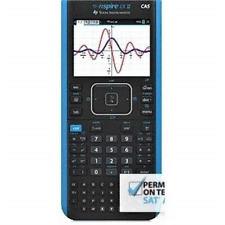 Texas Instruments TI-Nspire CX II CAS Handheld Color Graphing Calculator Blue
