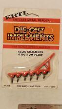 Ertl Allis Chalmers 6b plow 1/64 diecast farm implement replica collectible