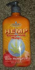 Moist Hemp Pomegranate Mango Body Lotion Cream Moisturizer - 18 oz / 530 ml