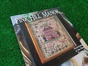 Pink Hill Manor Blackbird Designs Cross Stitch Pattern - Anniversaries Heart