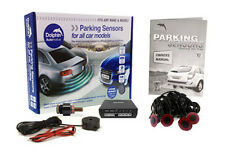 Flush Fit Universal Car Reversing Parking Sensors Reverse Park Aid - Audio Beeps