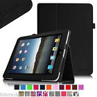 Leather Case Cover Apple iPad 1st Gen Original Generation iPad 2/3/4 iPad Air