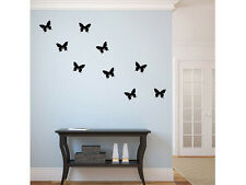 "Butterfly Vinyl Wall Decal 7""x5.5"" Graphics Bedroom Home Decor"