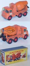 MATCHBOX k-13 Ready-Mix Concrete Truck Ready Mixed/CONCRETE/United Kingdom