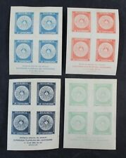 CKStamps: Worldwide Stamps Uruguay Scott#410a-413a Mint H OG