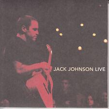 "JACK JOHNSON Flake (Live)  PICTURE SLEEVE 7"" 45 rpm record + juke box strip NEW"