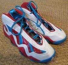 5765733e04313e Adidas Crazy 97 White Light Scarlet Red-Blue Jrue Holiday G98307 Men s SZ  8.5