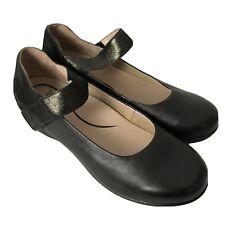 Dansko Womens Audrey Mary Jane Shoes Black Leather Size EUR 42 US 11.5 - 12