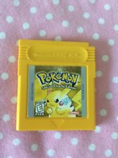 Pokemon: Yellow Special Pikachu Edition (Nintendo Game Boy Color) Authentic