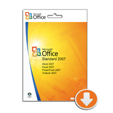 Microsoft Office Standard 2007, Outlook, Word, Excel, PowerPoint