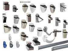 Set Wand-Regalträger/-halterungen/-befestigungen Clips Große Design-Auswahl