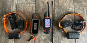 Garmin Astro 320 GPS Dog Tracking Training System with Two DC40 Collars - Bundle
