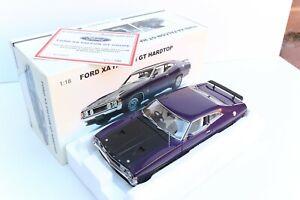 AUTOART BIANTE 1:18 MODEL CAR FORD XA FALCON GT HARDTOP, WILD VIOLET