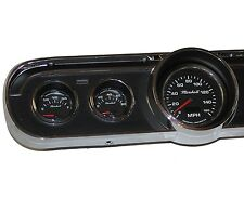 65 Mustang GT 5 Gauge Classic Instrument Cluster w/ Comp 2 LED Sport Gauges *NEW