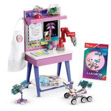 American Girl GOTY 2018 Luciana Vega Doll's Maker Station  mega construx New