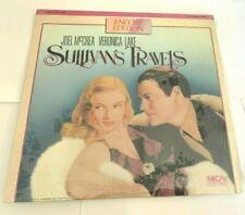 SULLIVAN'S TRAVELS Laserdisc LD ENCORE EDITION