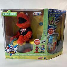 2011 Hasbro Playskool Sesame Street Let's Rock! Elmo SPECIAL EDITION COMPLETE