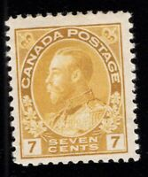 Canada Scott 113 Mint LH OG Cat Val $75 Lot P587