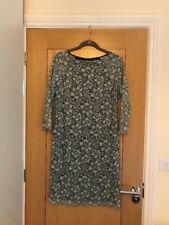 PER UNA Women's Mint Green 3/4 Sleeve Lace Dress Size 10 - NEW