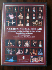 A Curtain-Call for Aid (2005, 3 DVDs) - Save The Children (Royal Opera House)
