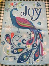 Garden Flag Christmas Joy Up 12x18