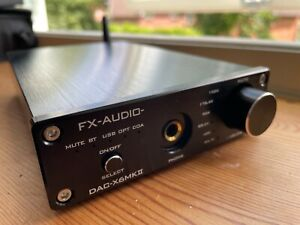 FX-AUDIO DAC X6 MKII - Kopfhörerverstärker - D/A Wandler 24bit/192kHz - BT 5.0