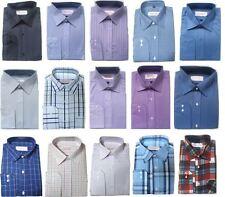 Unifarben Klassische Herrenhemden mit Kombimanschette-Ärmelart aus Baumwollmischung ohne Mehrstückpackung